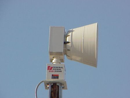 New Outdoor Warning Sirens installed in 2007